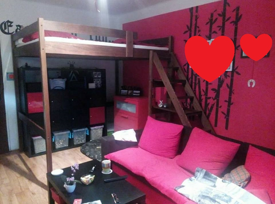 Manželská patrová postel Matouš