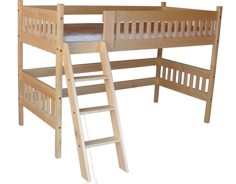 Vyvýšené postele z masivu