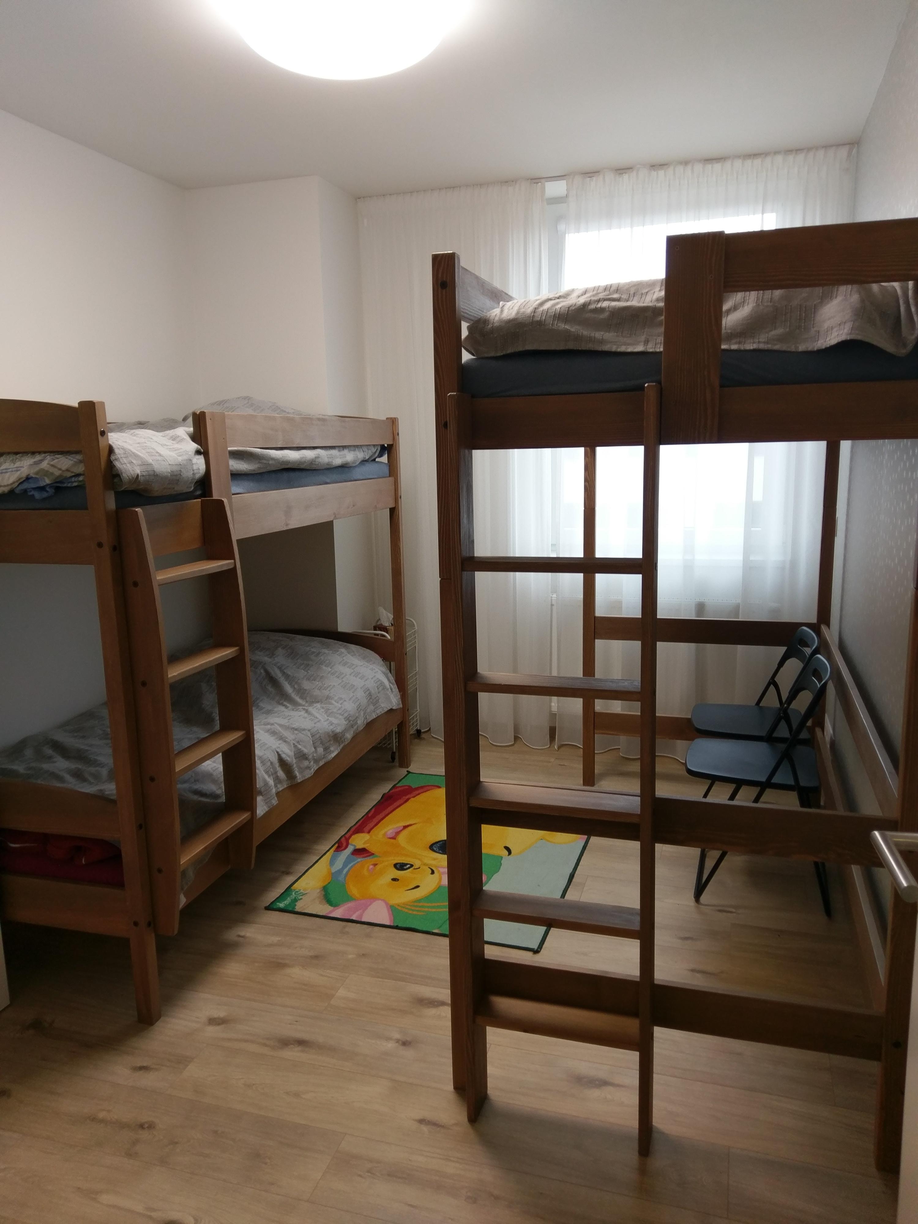 palanda Pavel a patrová postel Norbert