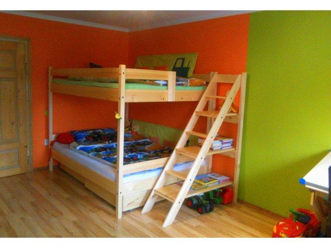 Patrová postel pro 4