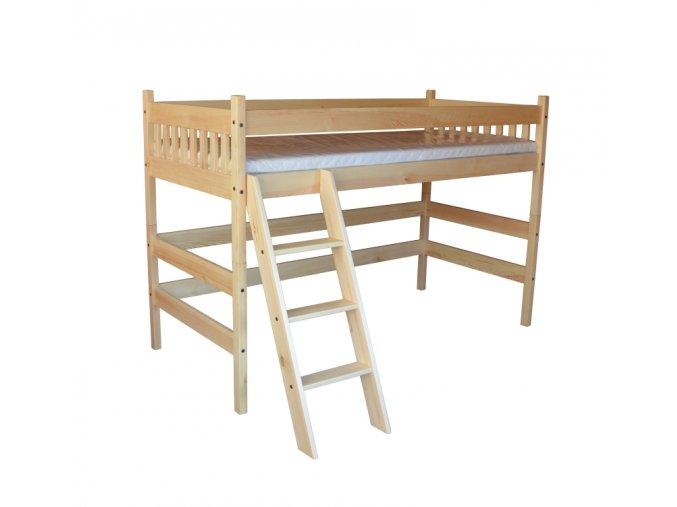 vyvýšená patrová postel kamil