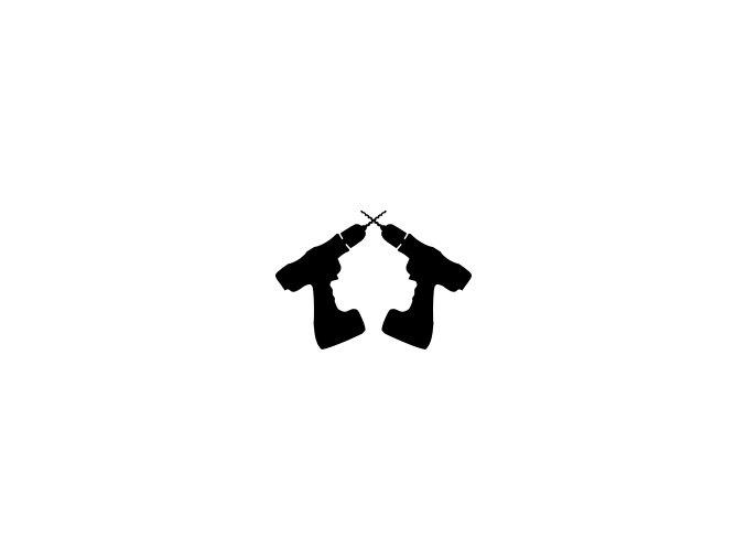 cordless drill logo