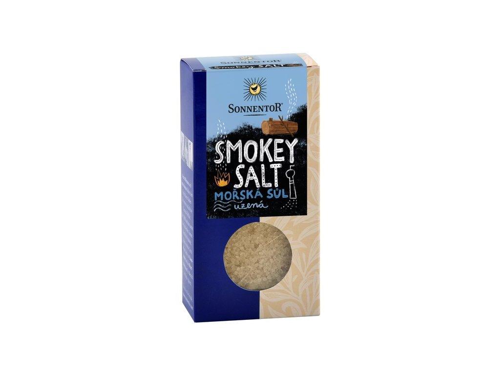 Smokey Salt mořská sůl, zauzená bio Sonnentor