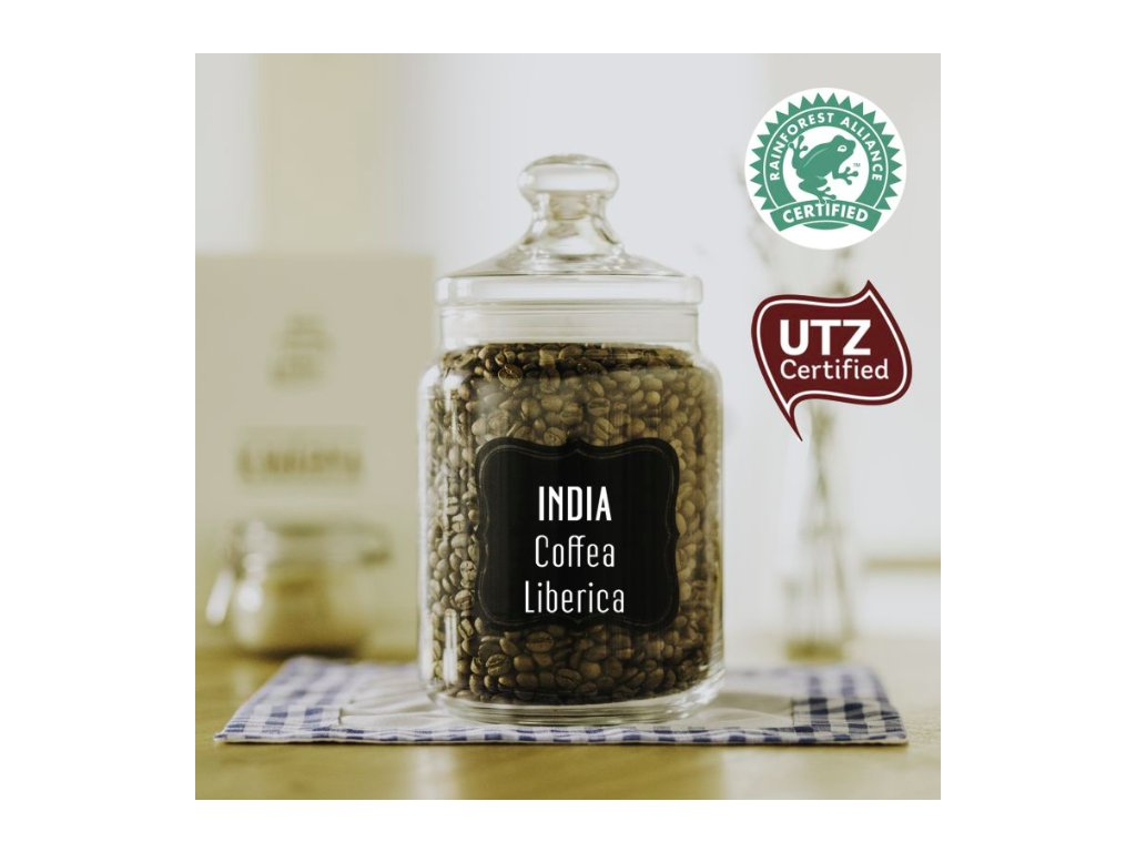INDIA Coffea Liberica - zrnková káva