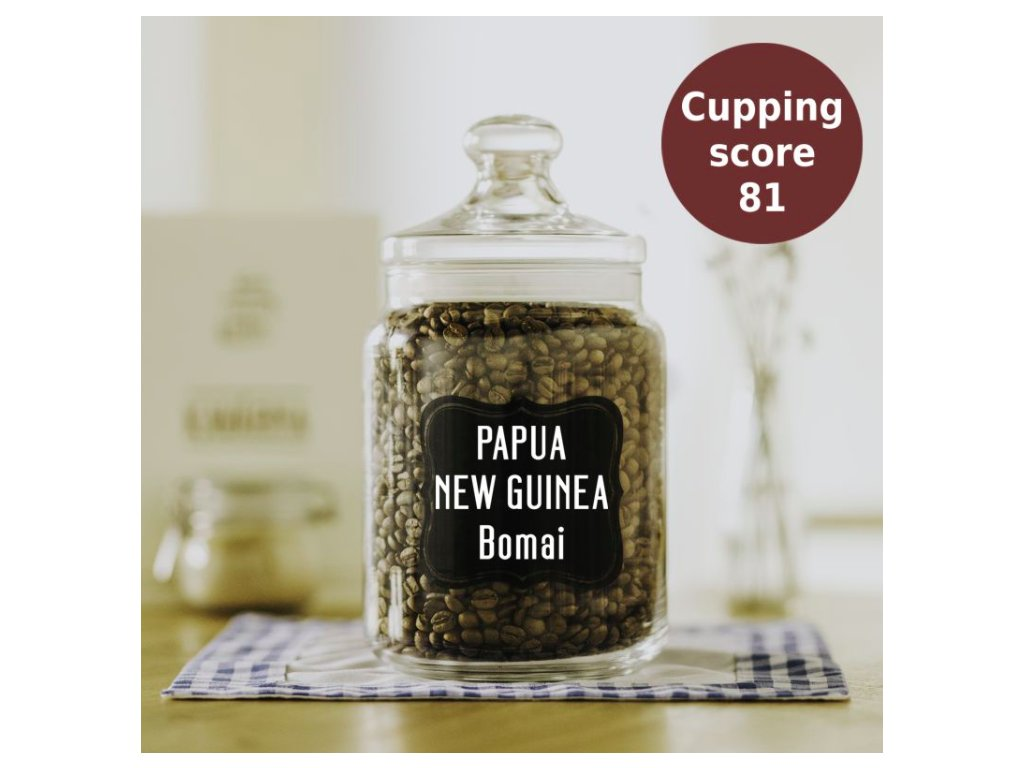 Papua Nová Guinea Bomai – zrnková káva