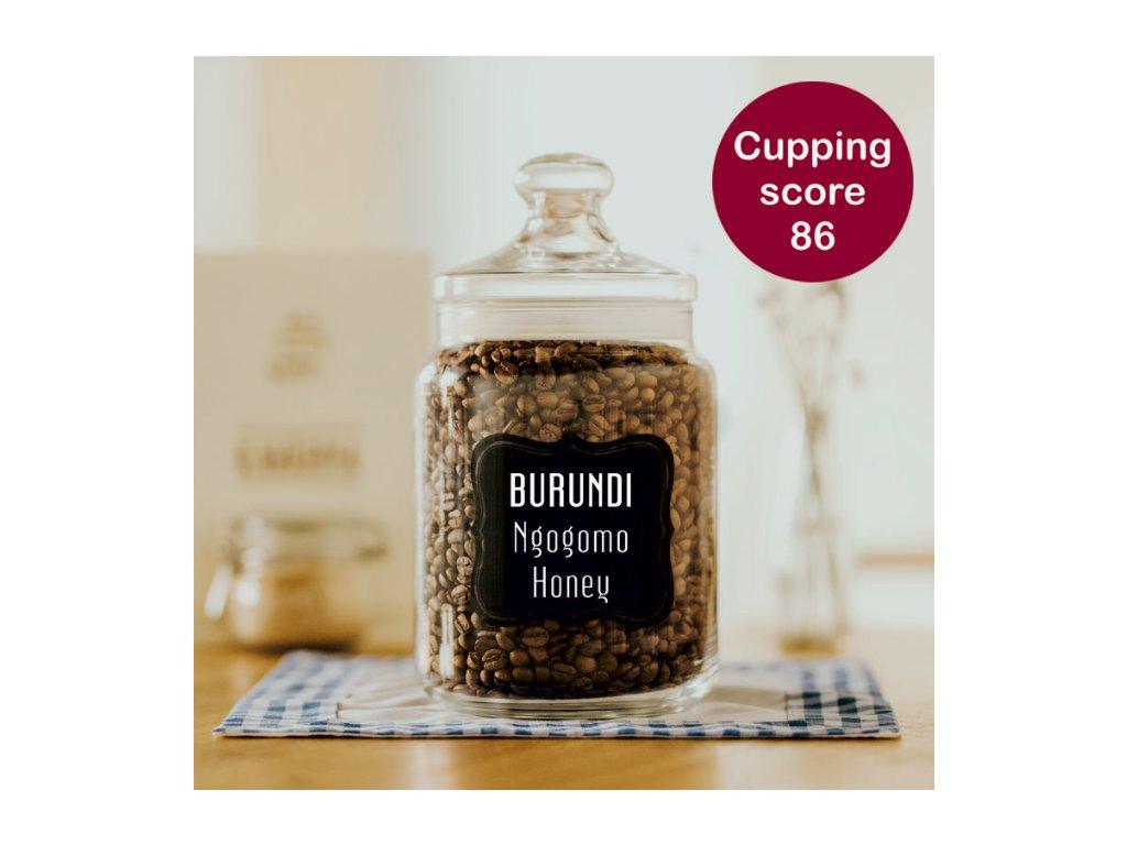 Burundi- Ngogomo Honey – zrnková káva