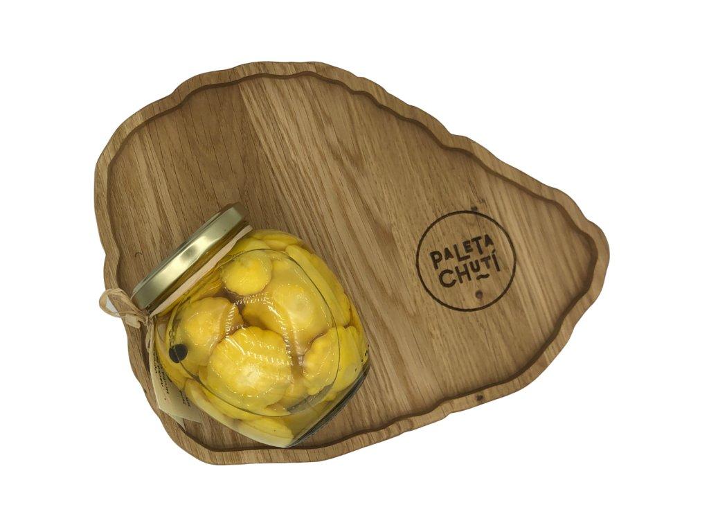 Patizonky - žluté, nakládané v soudku, 370 g