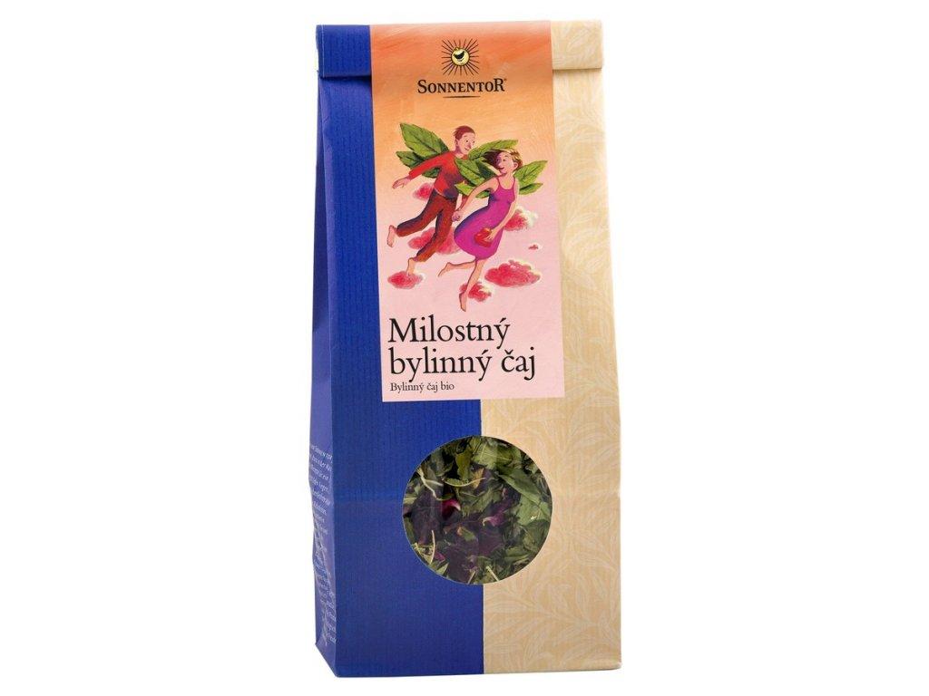 Milostný bylinný čaj sypaný bylinný čaj bio Sonnentor