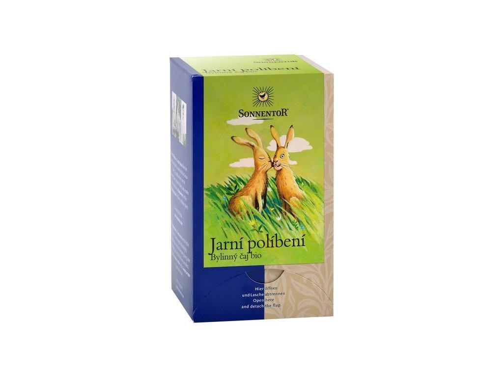 Jarní políbení bylinná směs bio čaj Sonnentor