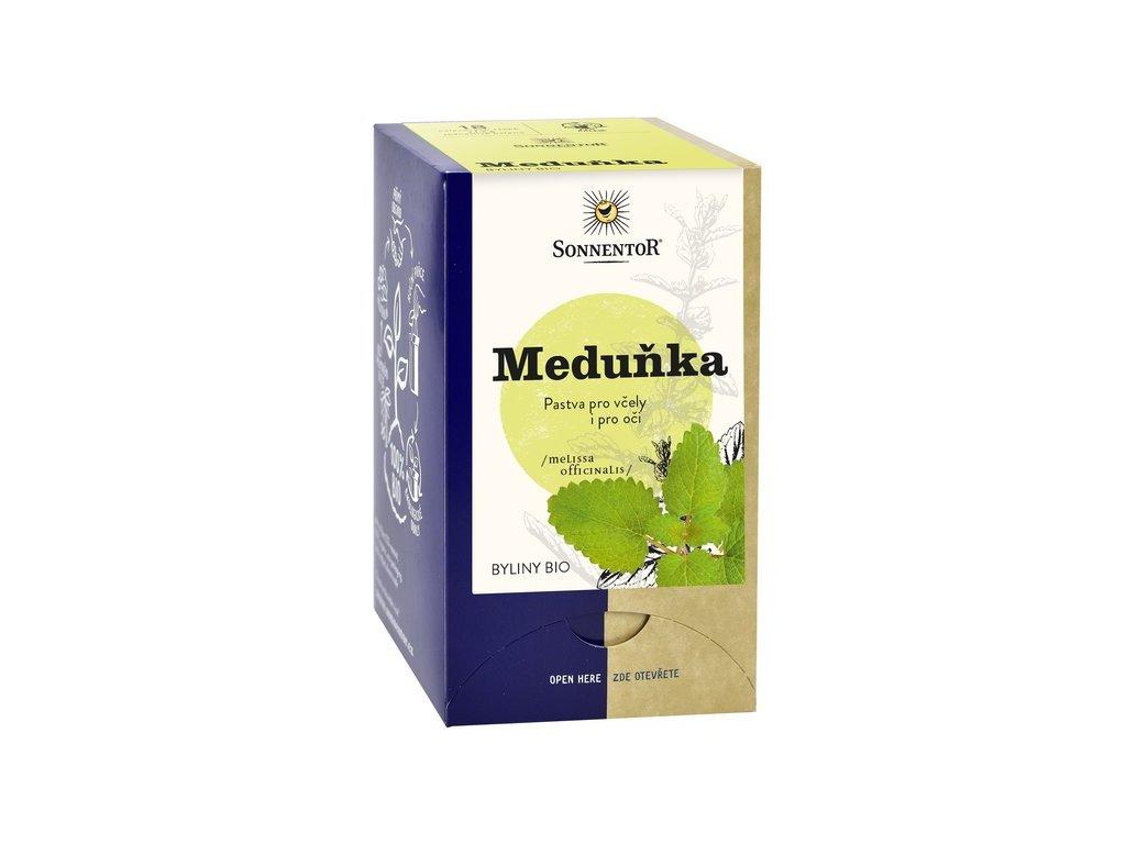 Meduňka bio, Melissa officinalis čaj Sonnentor