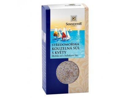 Středomořská kouzelná sůl s květy bio Sonnentor