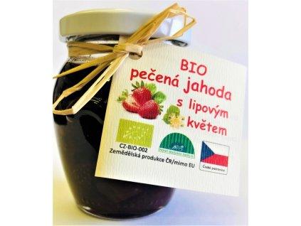 biopeceny jahodovy s lipovym kvetem 140 ml t1