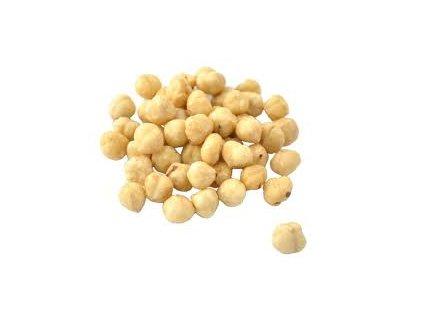 Lísková jádra ( bílá ) loupaná blanšírovaná lískové ořechy loupané