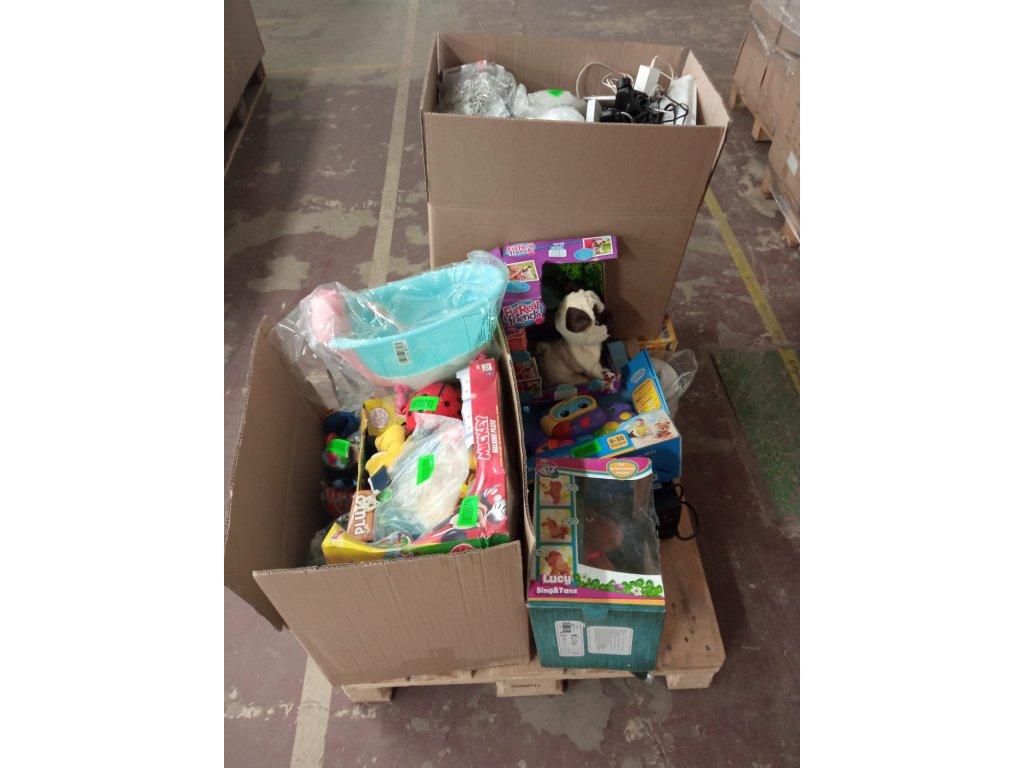 Malé spotřebiče, hračky a domácnost, č. 0103, ~ 40-60ks