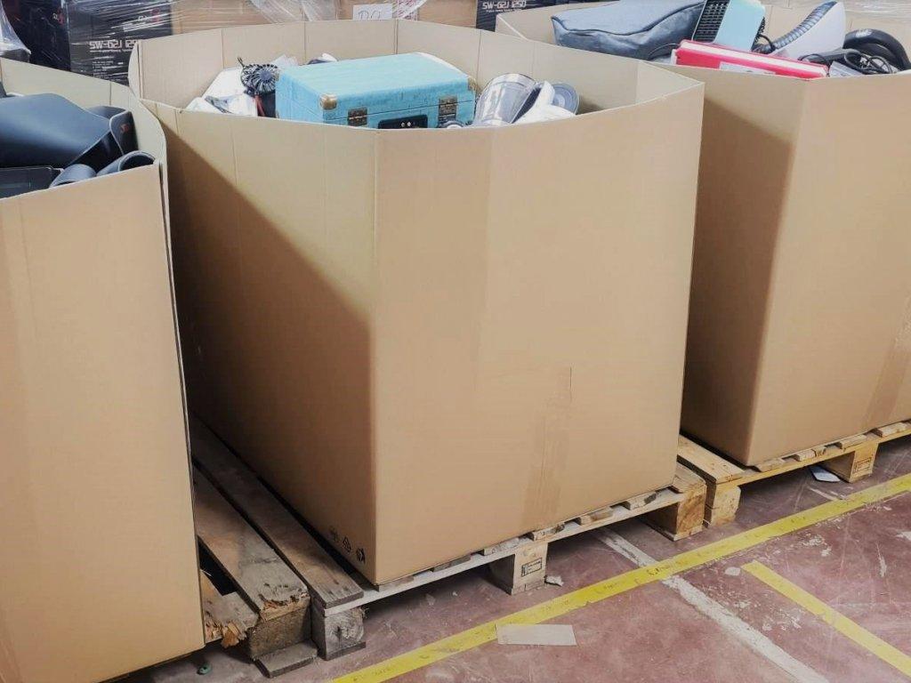 Mystery box - Paleta 120x80x90cm - hodnota zboží ~ 85.000 Kč