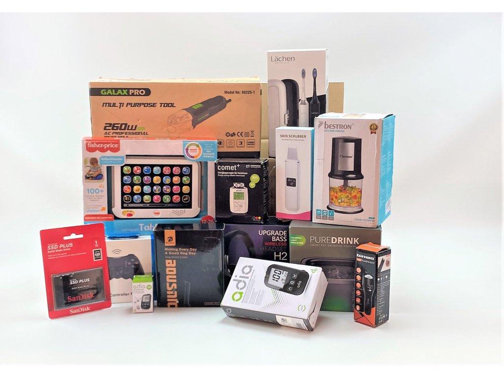 Mystery box S - 50x30x30cm - hodnota zboží ~ 6.000 Kč