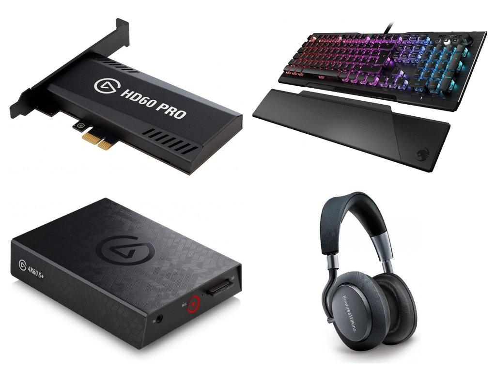 PC a Elektro, Box č. spL00089inLE, 82ks - hodnota zboží 166 551 Kč