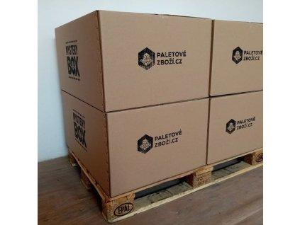 Mystery box - 80x60x40cm - hodnota zboží ~ 15.000 Kč