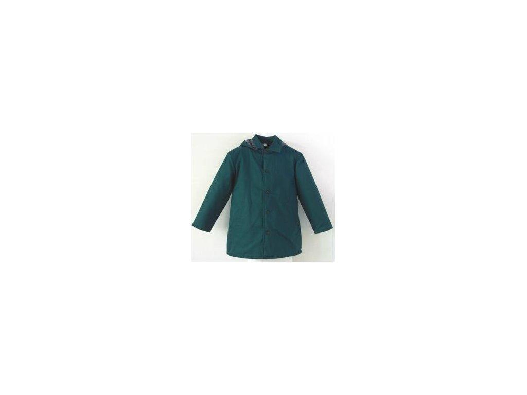 Kabát prošívaný s kapucí