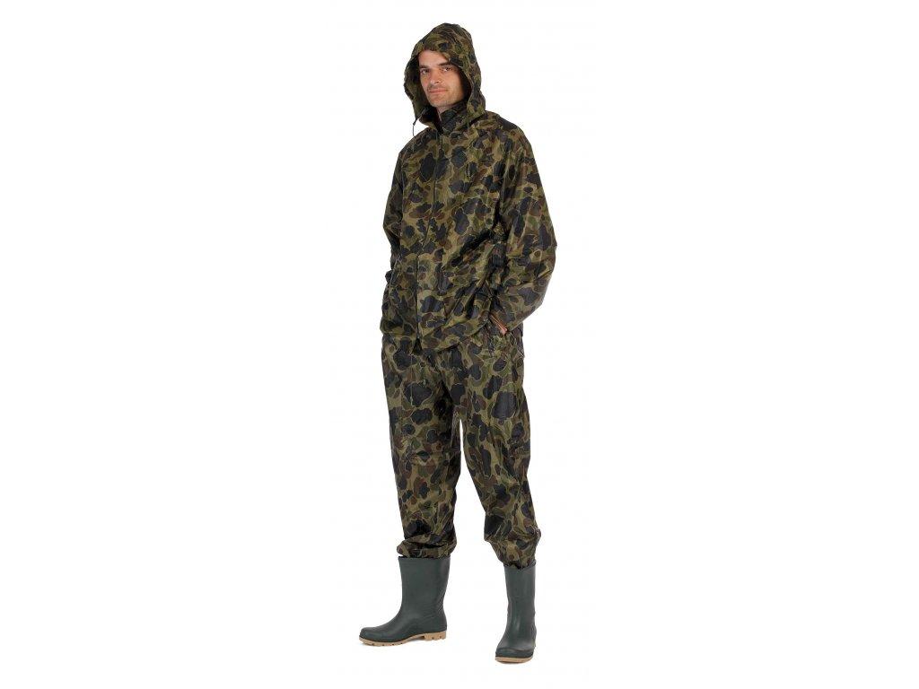 CARINA ARMY dvoudílný oblek s kapucí