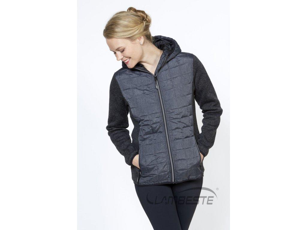 COMBI pletený fleece dámská bunda (JL903)
