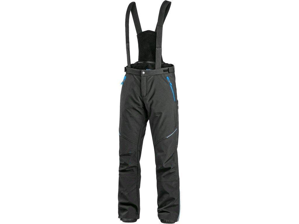 492087 kalhoty cxs trenton zimni softshell panske cerno modre