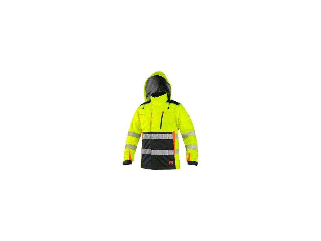 CXS BENSON  zateplená výstražná bunda