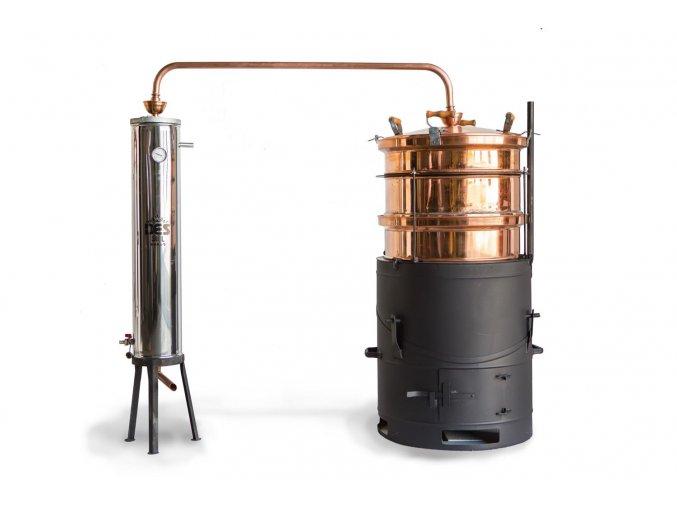 Destilacni pristroj Esence 100 l destilacni kolona (1)