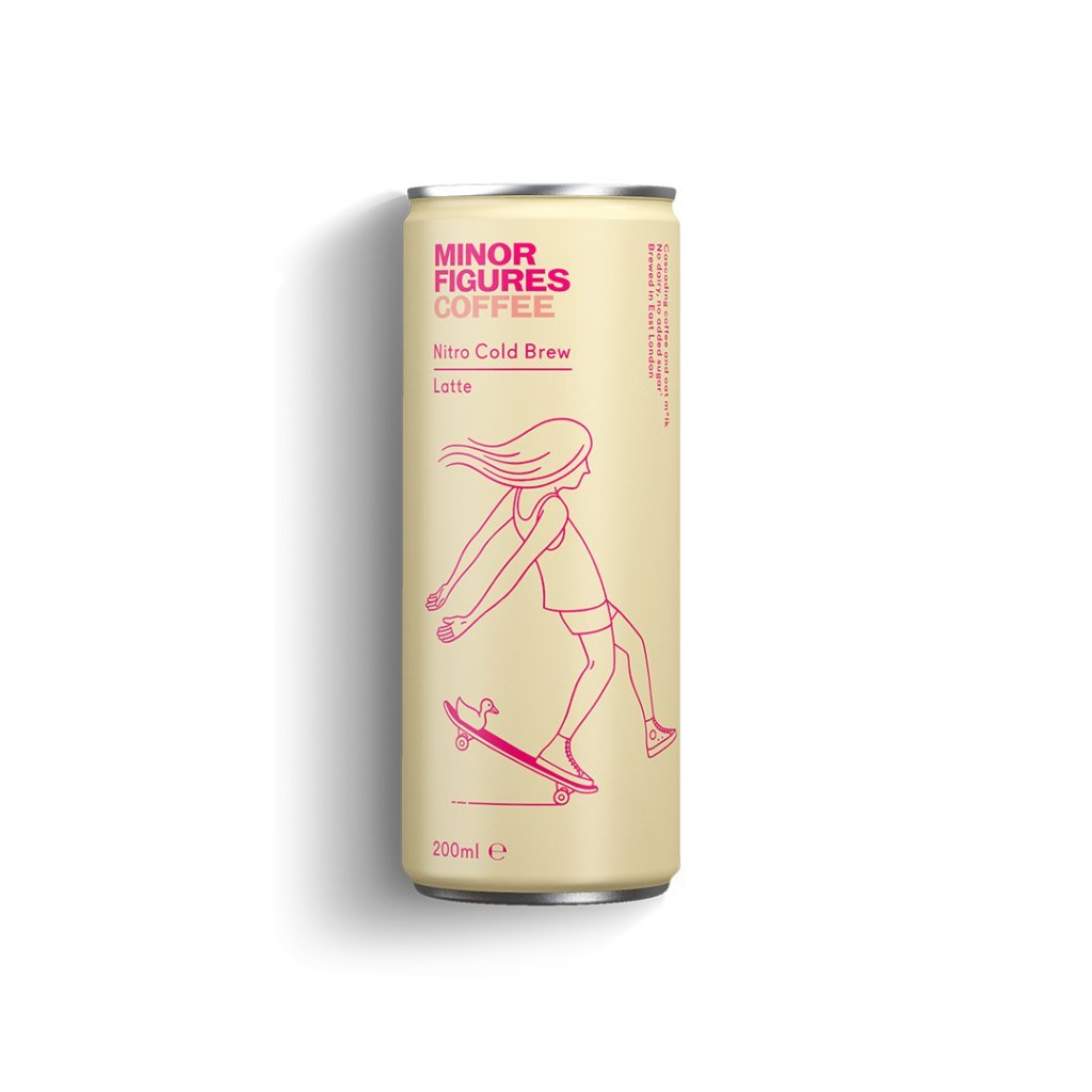 MINOR FIGURES Nitro Cold Brew Latte 0,2l - 12x1 multipack