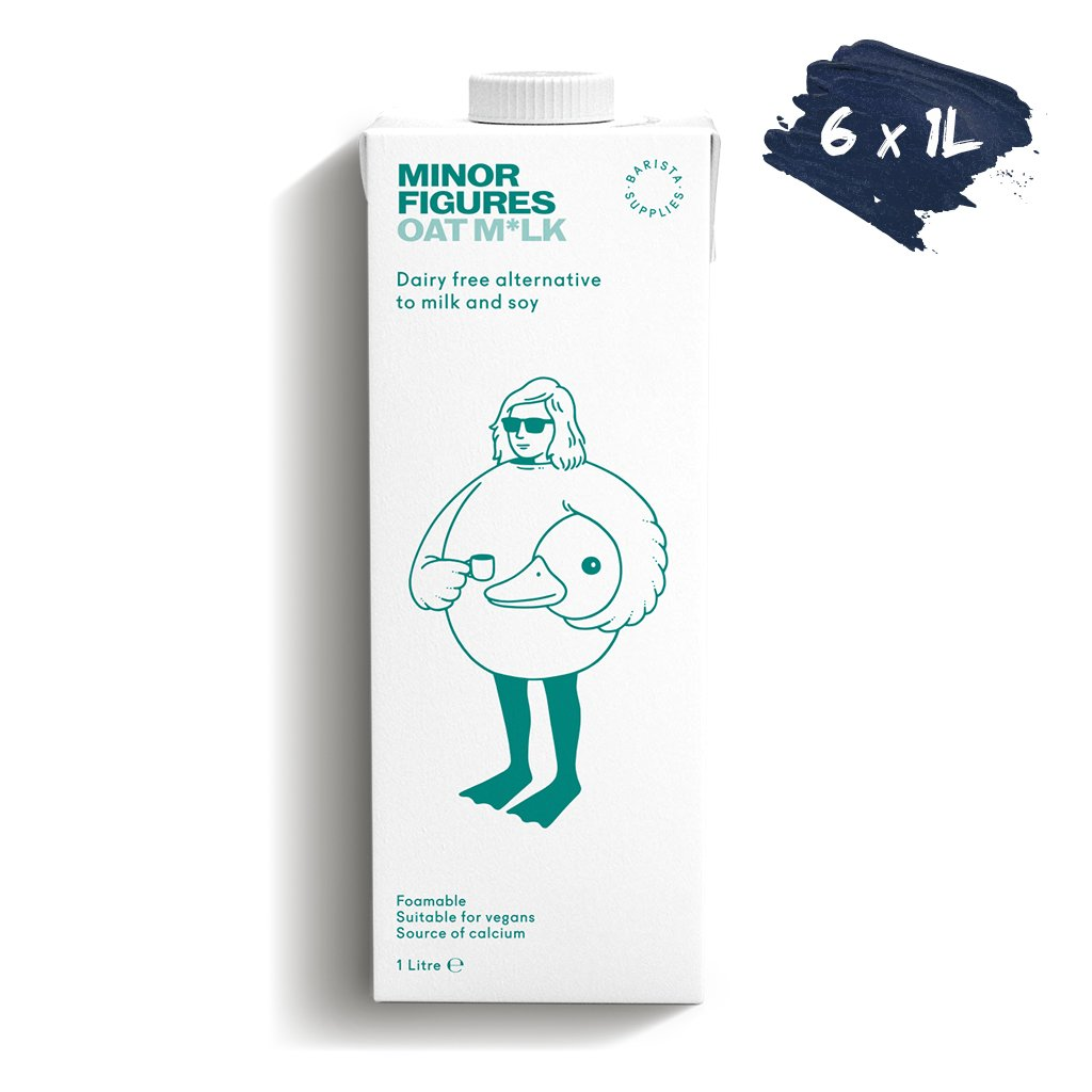 Minor Figures Oat Milk 1L Pallet Store