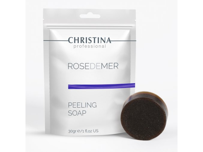 Mýdlový peeling Rose de Mer Christina 30ml