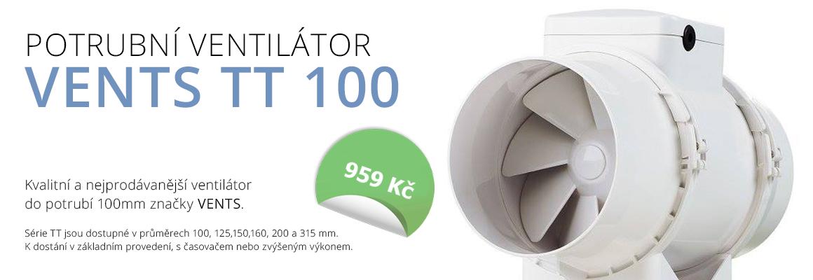 ventilátory TT