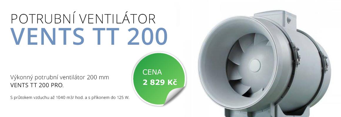 ventilátory TT 200