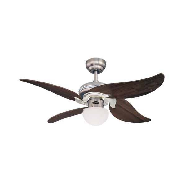 Stropní ventilátory se světlem