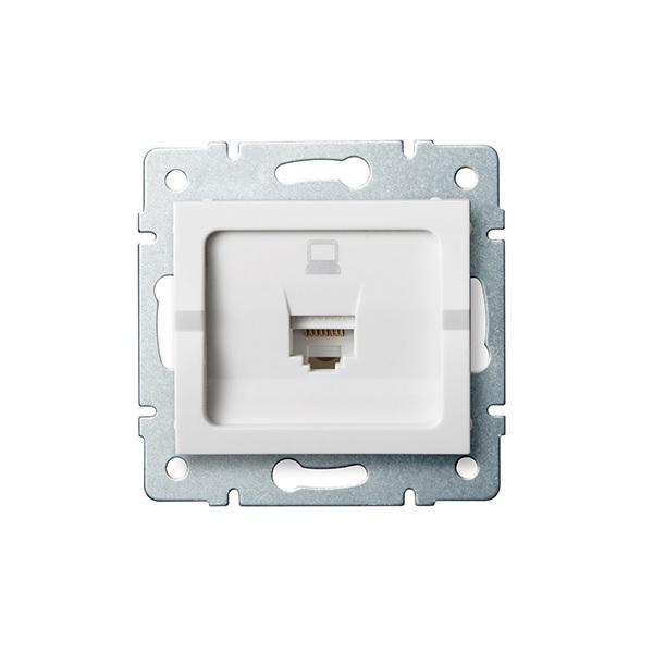 LOGI zásuvky datové bílé