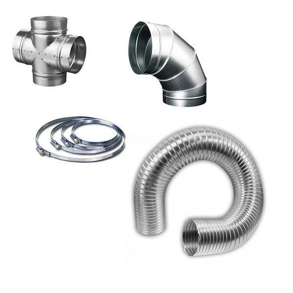 Ventilační potrubí kovové