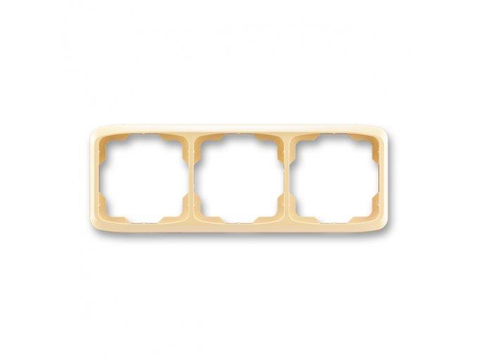 Rámeček TANGO 3901A-B30 D trojnásobný vodorovný