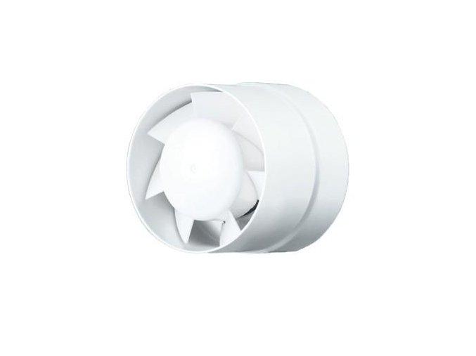 Ventilátor do potrubí Vents 125 VKO L Turbo ložiska, vyšší výkon