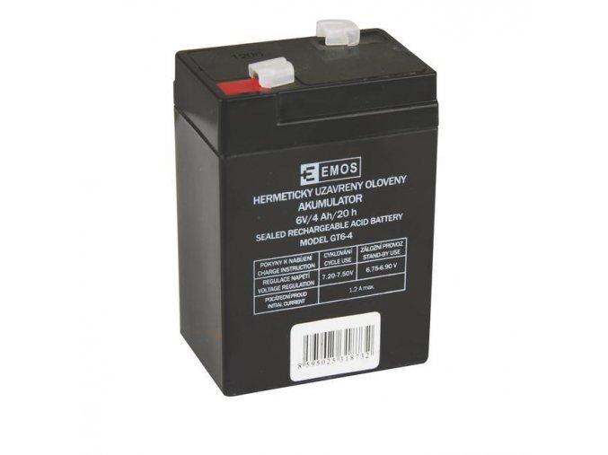 Olověný akumulátor 6V 4Ah pro svítilny 3810