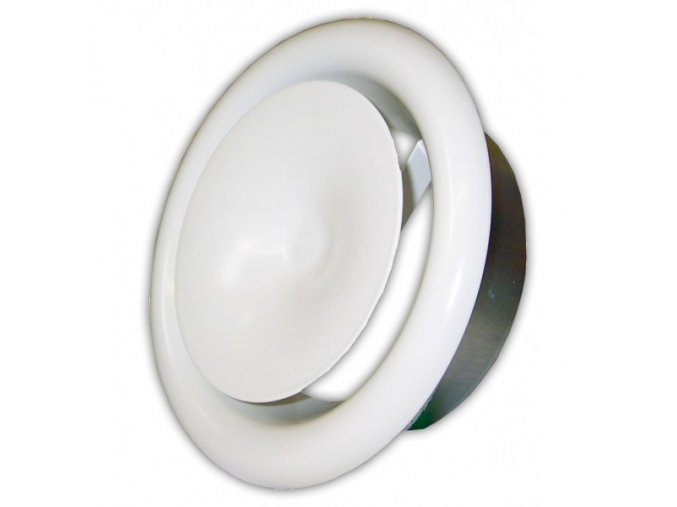 Anemostat kovový přívodní 100 mm