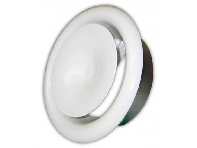 Anemostat kovový přívodní  80 mm
