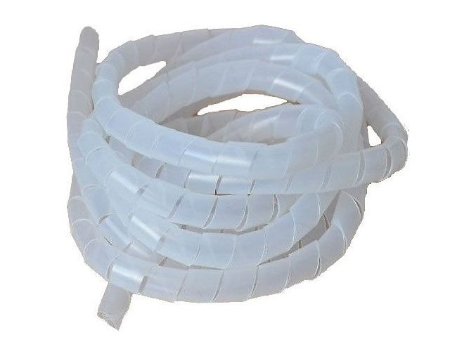 Svazkovací spirála bílá 18-65mm,10mm,10m