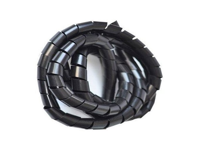 Svazkovací spirála černá 30-100mm,19mm,10m