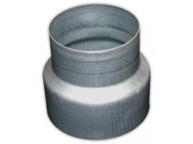 Redukce potrubí METAL-K R 100/125mm kovová Zn