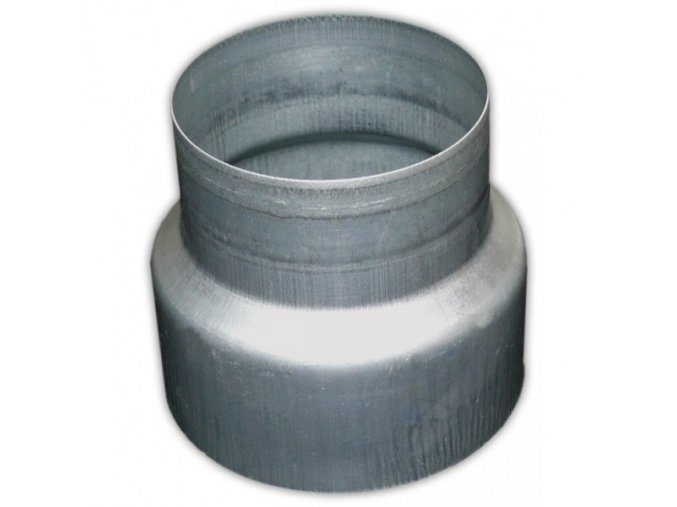 Redukce potrubí METAL-K R 125/150mm kovová Zn