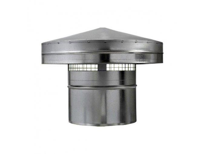 Protidešťová stříška PS 100 mm