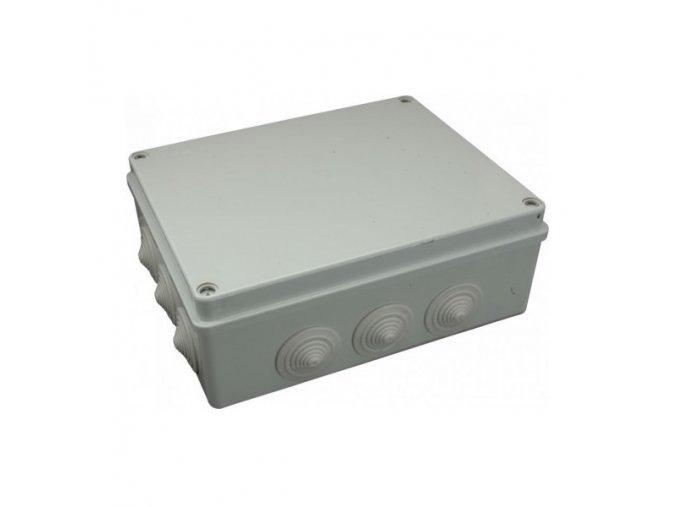 Krabice elektroinstalační 300x220x120 S-BOX 606 IP55
