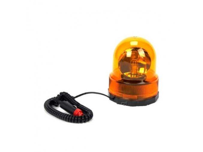 Výstražný maják oranžový 12V, magnetický