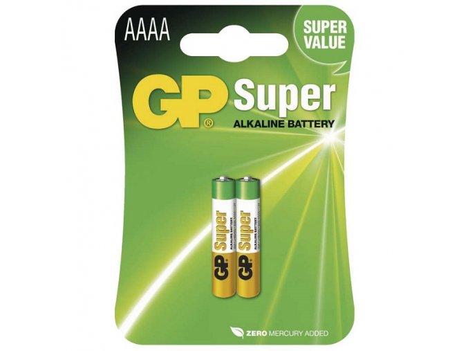 Baterie GP 25A alkalická AAAA 1ks
