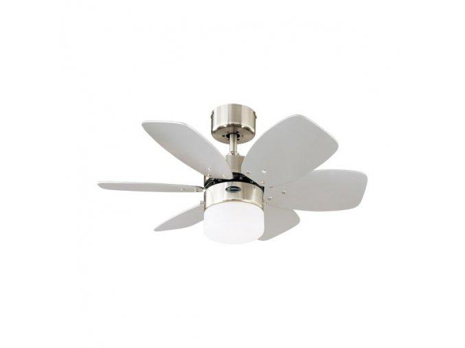 Stropní ventilátor se světlem Westinghouse 78788 Flora Royal